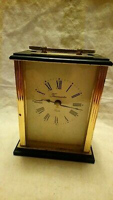 Vintage Time master Quartz Mantel Clock In Working Condition
