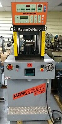 Mdm Hydraulic Press Model Combi 40 Capacity 40 Ton Excellent Condition