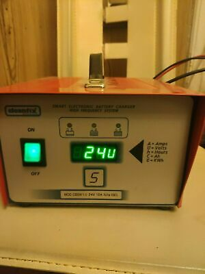 Battery charger Cleanfix Mod. cbsw 1-S 24V 12A IUIa GEL