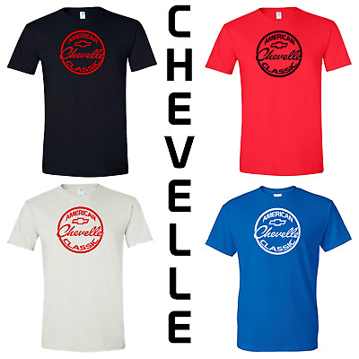 661ace62 CHEVELLE SS LOGO T-Shirt Chevy Chevrolet Classic American Muscle Car ...