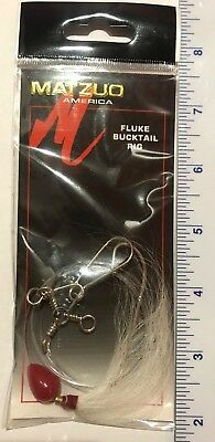 5 Matzuo Fluke Bucktail Rigs MR-16BR