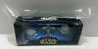 Micro Machines Star Wars ANH ESB Special Edition 3-Pack NEW 1996 Galoob #69060