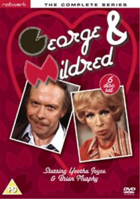 Yootha Joyce, Brian Murphy-George and Mildred: The Complete Series DVD NEW