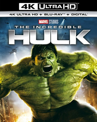 The Incredible Hulk (4K Uhd+Bd+Uv) Blu-Ray New