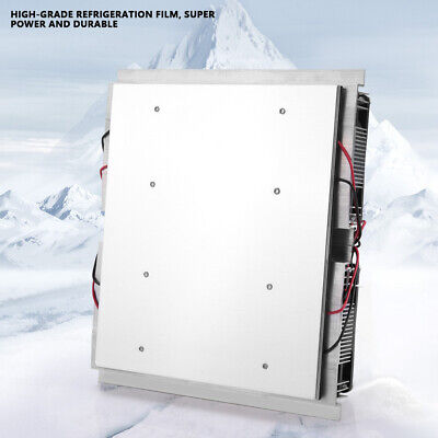 12V Semiconductor Refrigeration Thermoelectric Cooling Plate Cooler with Fan