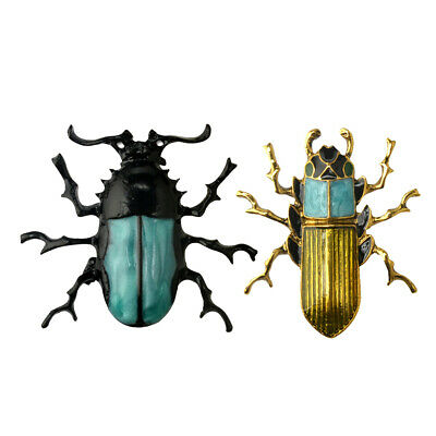 Elegant Coccinelle Insecte Bug Themed Accessoires Broche Pin Femmes Hommes Breastpin