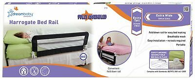 Dreambaby Fully Assembled Extra Wide Bed Rail - Navy