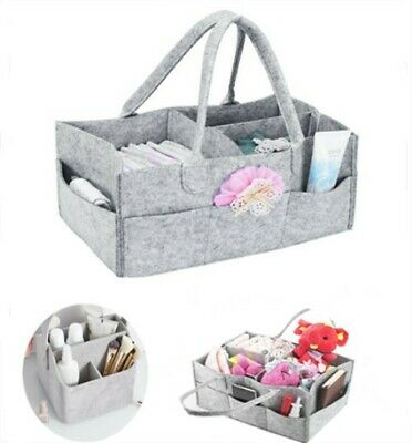 Multi-use Large Baby Diaper Changing Caddy Bag Cosmetic Brush Mummy Toiletry Bag