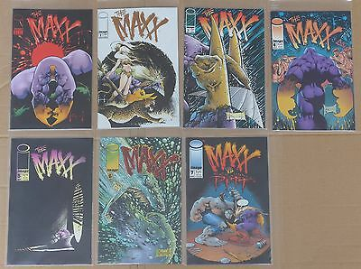 THE MAXX Sam Kieth LOT 13 IMAGE COMICS #1-15 (missing # 8 & 12) NM 1st PRINTING