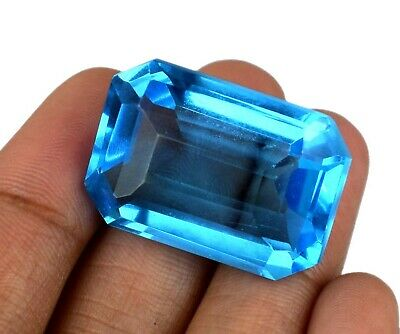 LOOSE OVAL CUT Genuine Natural Blue Topaz Stone Single