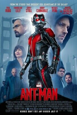 Ant-Man- original DS movie poster - 27x40 D/S FINAL Paul Rudd INTL