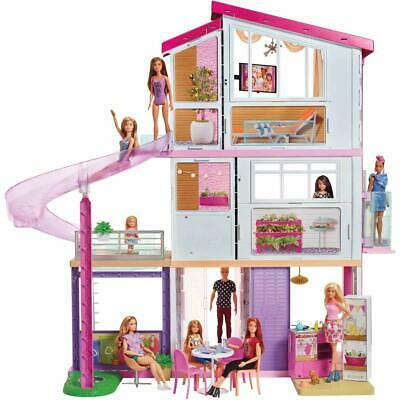 Barbie Dream House 3 Floors 8 Rooms 70+ Accessories Best Birthday Girl Gift Ever