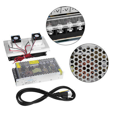220V Semiconductor Refrigeration Cooler DIY Air Cooling Device/Power Supply