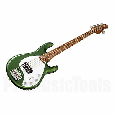Music Man USA Stingray 5 Special EV - Charging Green MN *NEW* roasted neck bass
