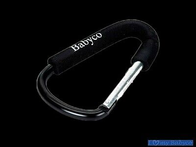 Babyco Hooks Baby Stroller Hook New Shopping Bag Clip Carrier Pushchair Hanger