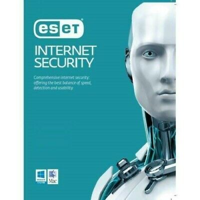 ESET NOD32 Internet Security 3 Year 1 Device PC License key 2019 Edition
