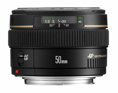 Canon EF 50mm F/1.4 USM Standard USED Lens For Canon Free Shipping From JAPAN