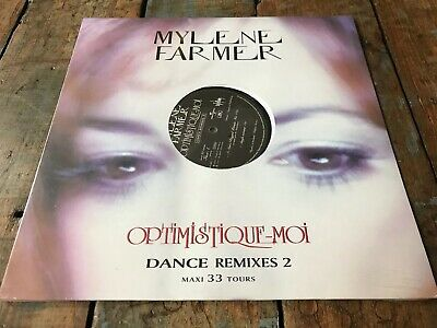 Mylene Farmer Optimistique Moi Vinyl  Promo Maxi 33 Tours Dance Remises 2 Neuf