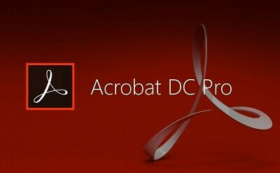 ADOBE ACROBAT PRO DC 2019 (ITALIANO) software modifica PDF per Windows