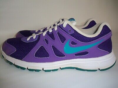 db42a818eb378 NEW GIRLS NIKE Revolution 2 PSV Running Shoes Size: 3Y (555091 405 ...