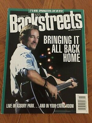 VINTAGE LOT OF 3 Music magazines Bruce Springsteen