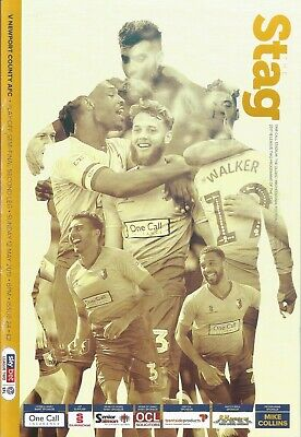 2018/19  MANSFIELD TOWN v NEWPORT COUNTY   Play Off Semi Final