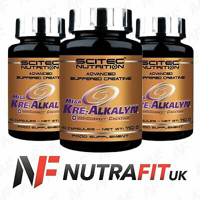 SCITEC NUTRITION MEGA KRE-ALKALYN buffered creatine monohydrate 80 caps