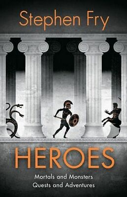NEW Heroes By Stephen Fry Audio CD Free Shipping