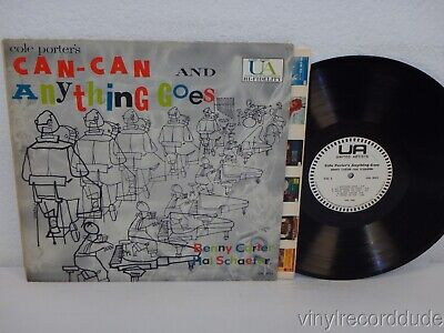 BENNY CARTER & HAL SCHAEFER Can-Can/Anything Goes RARE MONO PROMO United Artists