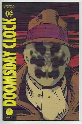 Doomsday Clock 1 Lenticular Cover 1st New Rorschach Mime Marionette Watchmen HBO