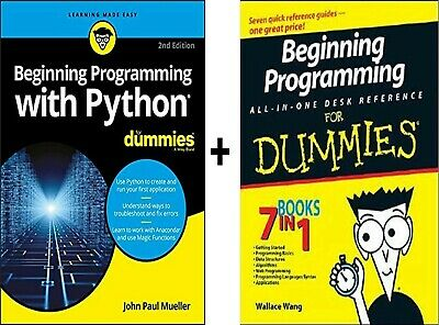 Beginning Programming with Python For Dummies 2nd Edition PDF + Gift [Read Desc]