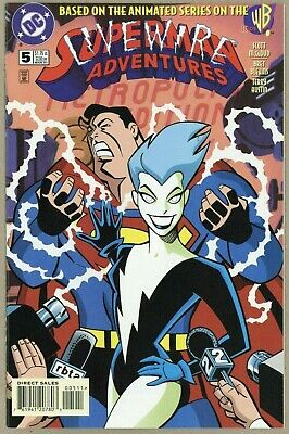 SUPERMAN ADVENTURES , no 5 ,1997, VF Condition , 1st Appearance of Livewire