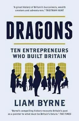 NEW Dragons By Liam Byrne Paperback Free Shipping