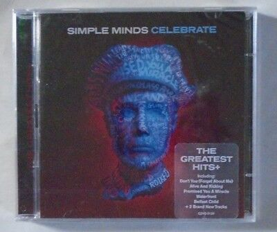 SIMPLE MINDS ~ Celebrate The Greatest Hits + ~ 2 x CD ALBUM - SEALED