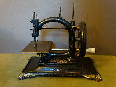 "Antique and rare sewing machine ""The Beatrice"" 1870´s, Guhl & Harbeck"