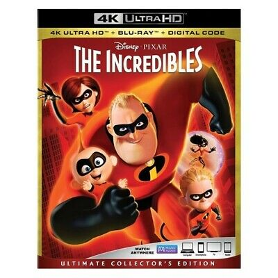 Buena Vista Home Video Br149849 Incredibles-Ultimate Collectors Edition (4K-U...