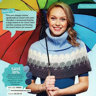 ~ Five Lady's Pull-Out Knitting Patterns For Cape, Cowl, Hats & Socks ~ See Pics