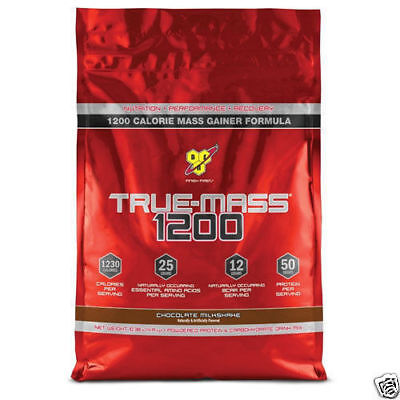 Bsn True Mass 1200 Truemass 4,8 kg Beutel Protein Muskel Gainer-All Aromen