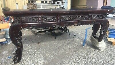 Original Chinese Antique Temple Altar Table, Guangdong Region, Pick Up Highett