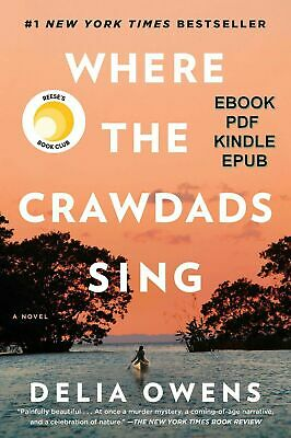 Where the Crawdads Sing By Delia Owens ( PDF ) FAST DELIVERY