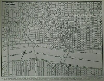 VINTAGE 1942 WORLD War WWII Atlas City Map Detroit, Michigan MI /Windsor on map of porter county, map of st. john, map of braddock, map of granger, map of ray, map of monon railroad, map of lawrenceburg, map of detroit, map of beverly shores, map of turkey run state park, map of dubois county, map of kalamazoo, map of kewaunee, map of new carlisle, map of ironwood, map of rossville, map of lansing, map of batesville, map of kendallville, map of indiana,