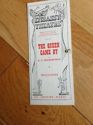 Embassy Theatre Programme (1949) - The Queen Came By with Thora Hird