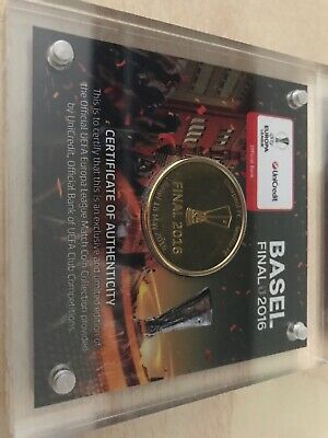 The Only Real Europa League 2016 Final Coin!!!