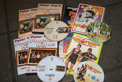 Phoenix Nights 1, 2  - Max Paddy Road Nowhere - Power of Two - Peter Kay DVD