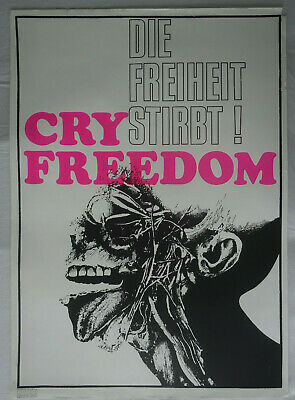 Plakat Poster - cry freedom - Hippie Psychedelic