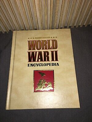 Illustrated World War II WW2 Encyclopedia Limited Edition 28 Vol. Set Missing 28