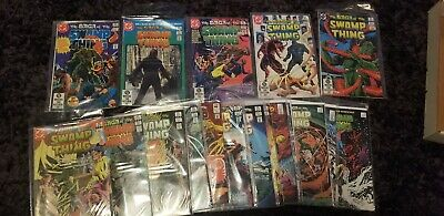 HUGE Lot Of SWAMP THING Comics!! DC Alan Moore!