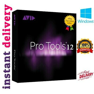 Avid Pro Tools HD 12 Ultimate edition |Lifetime License | Instant Delivery 10s