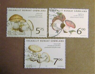 Greenland #446-448 Used F-VF Complete