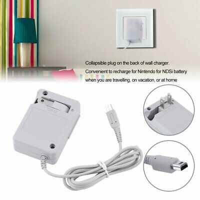 AC Home Wall Travel Charger Power Adapter Cord For Nintendo NDSi  LL/XL FL